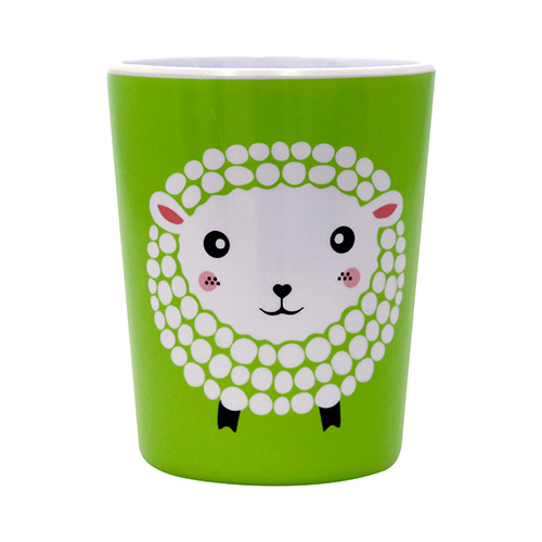 Melamine Cup Tots Sheep